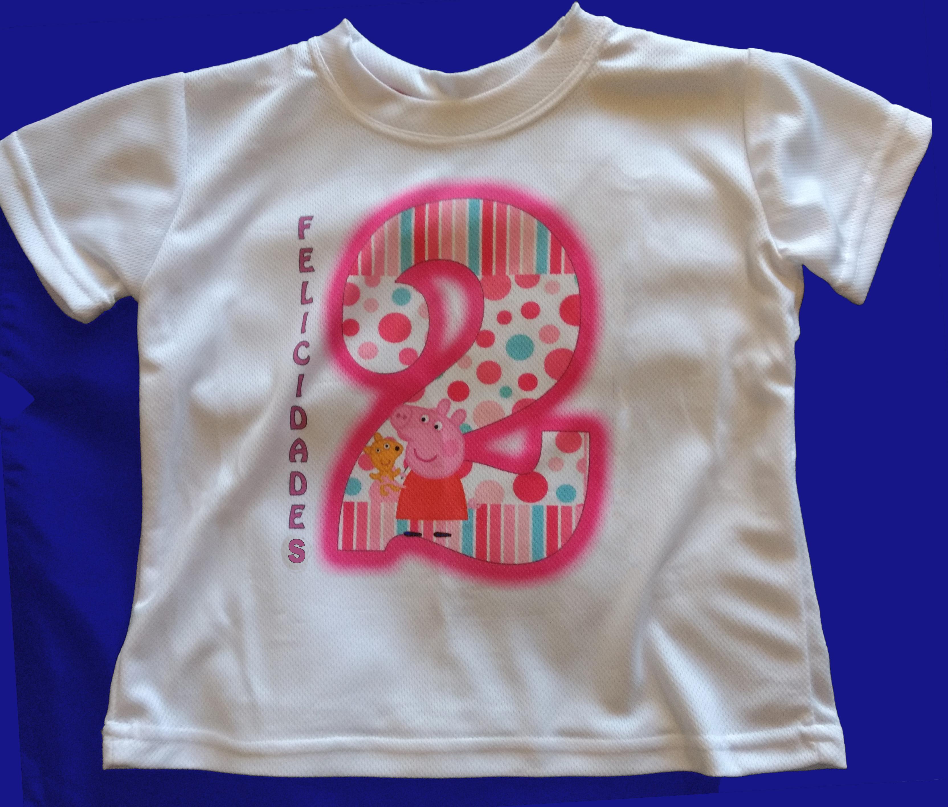 Playera niña 2 años PepaPig - SERVIMICH MORELIA 25f92b7378e80