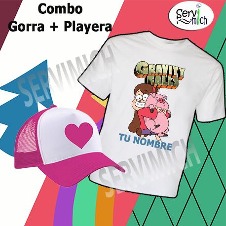Combo Playera + gorra Mabel - SERVIMICH MORELIA d1872c3638540