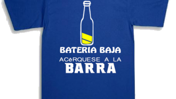 Enlace permanente a:Playera Acérquese a la barra
