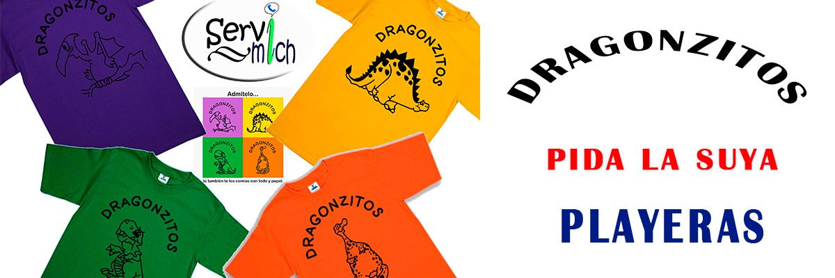 Enlace permanente a:Playeras Dragonzitos