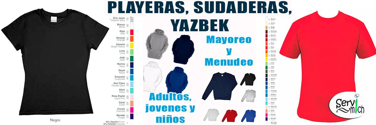 Enlace permanente a:Playeras, Sudaderas y más.. Yazbek