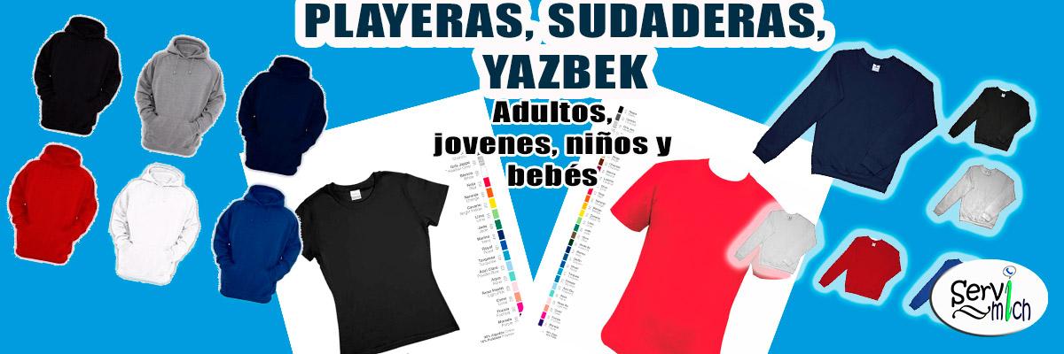 Enlace permanente a:Playeras, Sudaderas Yazbek